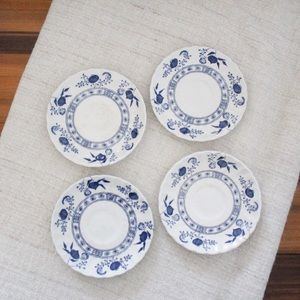 💕Set of 4 Johnson Brothers Saucer Plate L842